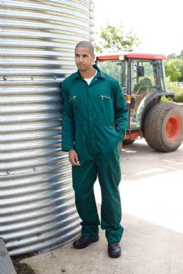 WD4839 Dickies Redhawk Zip Front Coverall Boilersuit